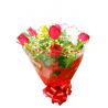 Buquê Tradicional c/ 6 Rosas