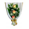 Ramalhete c/ 3 rosas Ambiance