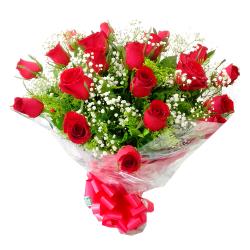 Buquê Tradicional c/ 20 rosas
