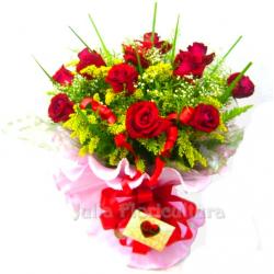 Buquê Especial de Rosas