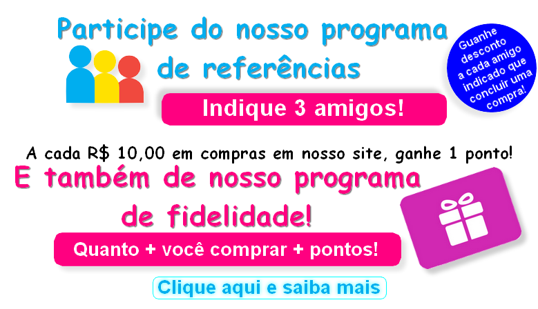 PROGRAMA DE REFERÊNCIAS E FIDELIDADE